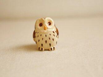 陶器のフクロウ 福の贈り物 不苦労(フクロウ)の画像