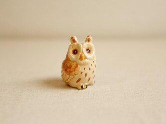 陶器のトラフズク 福の贈り物 不苦労(フクロウ)の画像