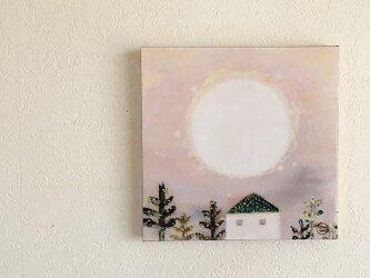 月の18cmパネル・フルフルムーンの画像