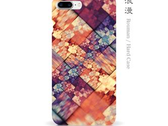 浪漫 - 和風 iPhone 手帳型ケースの画像