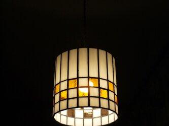 ステンドグラス照明(ペンダントタイプ)の画像