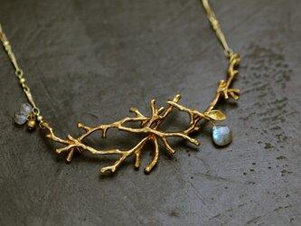 木枯らしのネックレス ラブラドライトの画像