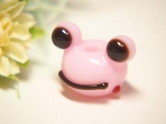 かえるのとんぼ玉 ピンクの画像