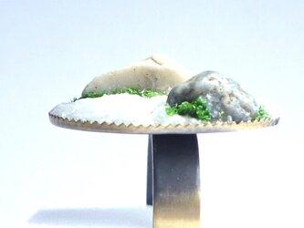 Zen Garden 枯山水リング~禅 ~の画像