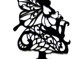 妖精とキノコの画像