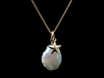 14KGF Twinkle Pearl Necklaceの画像