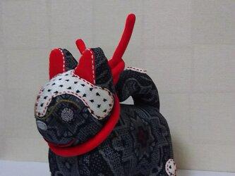張子犬  BIYO (かちん絣)の画像