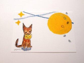 <柄の入れ替え可能です>「わすれもの と お月さま」ポストカード10枚セットの画像