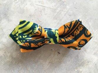 アフリカンプリント 蝶ネクタイ 5の画像
