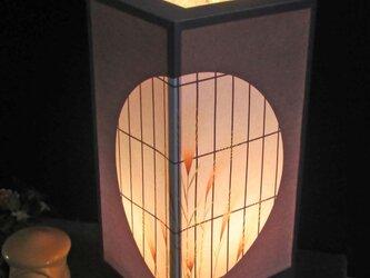 夢明かり≪夕べの窓辺≫飾りライトの安らぎを!!の画像