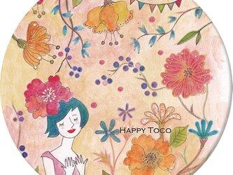 HappyToco 缶バッヂの画像