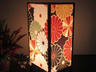 灯りの宿り木≪花びら車舞扇≫神秘な明かりの安らぎを!!の画像