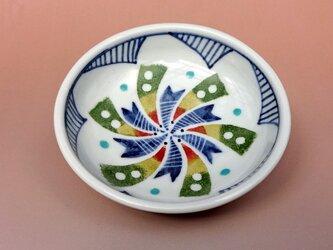 豆皿矢車柄の画像