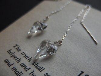 【silver925】マイ・ファニー・ヴァレンタインロングピアスの画像