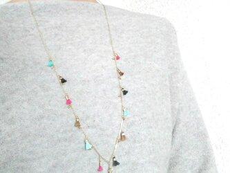 baby  fringe  necklaceの画像