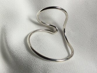 Silver950 丸線のイヤーカフ 右用の画像