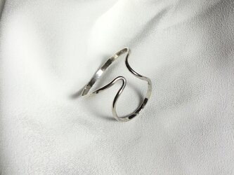 Silver950 槌目のイヤーカフ 右用の画像