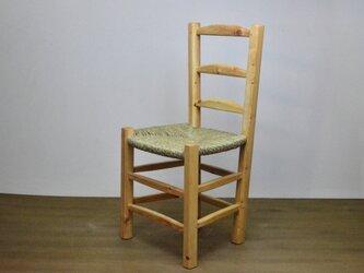 ゴッホの椅子と呼ばれるスペインの民藝椅子の画像