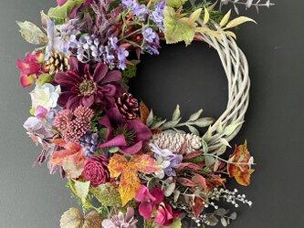 Autumn wreath IVの画像
