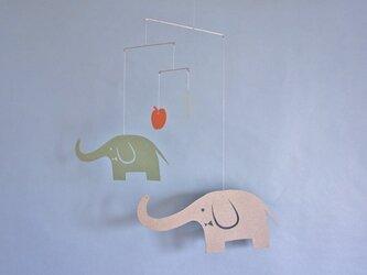 モビール「ゾウ」その1の画像