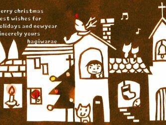 クリスマスポストカード 3枚セットの画像
