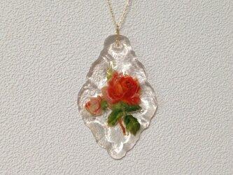 葉レジン 14KGF 古いお花の画像