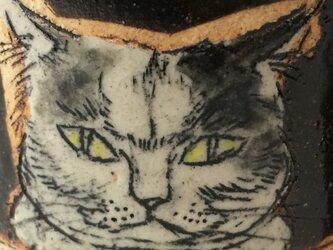 ボス猫マグカップの画像
