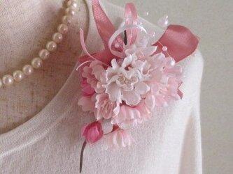 桜のコサージュ♪(卒園式 入学式)の画像