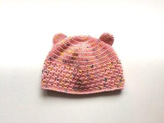  SALE  耳つきニット帽子 1〜2歳の画像