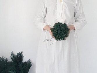 クリスマスリース受注販売品 ☆グリーンリース小の画像