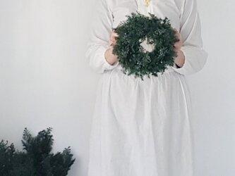 クリスマスリース受注販売品 ☆グリーンリース中の画像