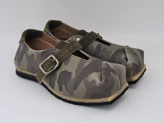 #Tokuyama Shoes:『tote that』green-camouflage canvasの画像