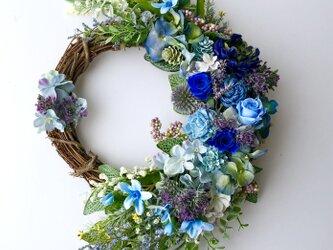 Hydrangea wreathの画像
