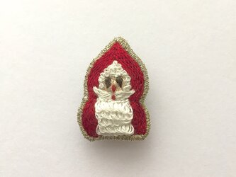 サンタクロース - ブローチの画像