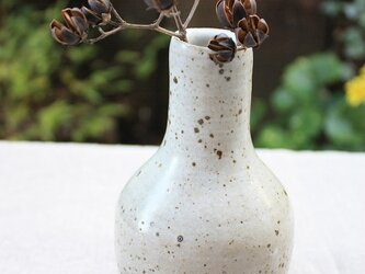 うずら釉花瓶の画像