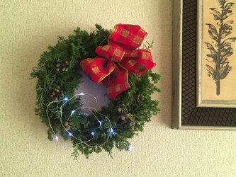 赤いリボンのクリスマス ご予約承りますの画像
