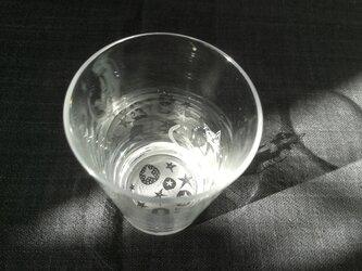 小さなグラス  星猫の画像