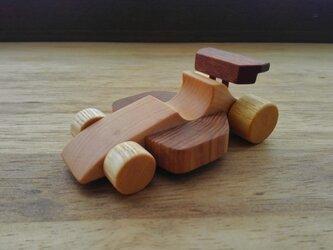 木のおもちゃ F1カー(小)の画像