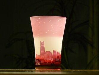 星降る港のタンブラー ~12星座  ピンク(1個)の画像