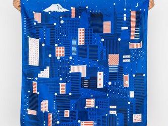 """光る風呂敷 """" Tokyo """" glow in the darkの画像"""