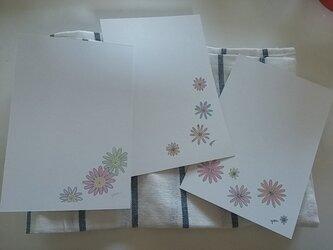 ポストカード(フラワー)3枚セット☆の画像
