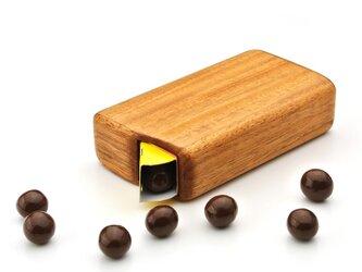 森永チョコボール専用木製ケースの画像