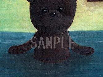 アクリル画「満ちる」2Lサイズ ポスターの画像