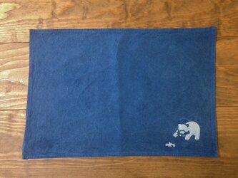 shizen no itonami ランチョンマット クマの画像