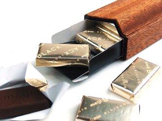 明治チョコレート スティックタイプ木製ケースの画像