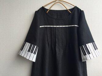 M~LLから選択セミオーダー●ピアノのチュニック●の画像