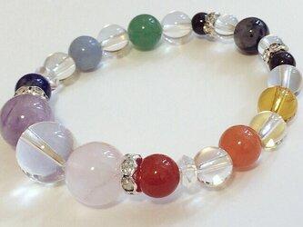 010【colorfulDays】天然石ブレスレットの画像