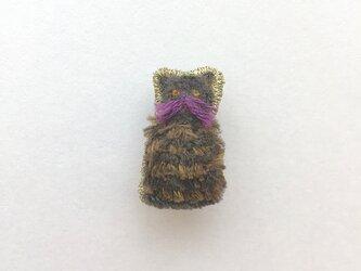 ネコ - ブローチの画像