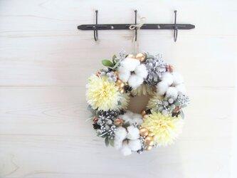 冬色リース(サフラン)の画像