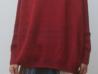 【NEW】PO knit もた wool90 cotton10の画像